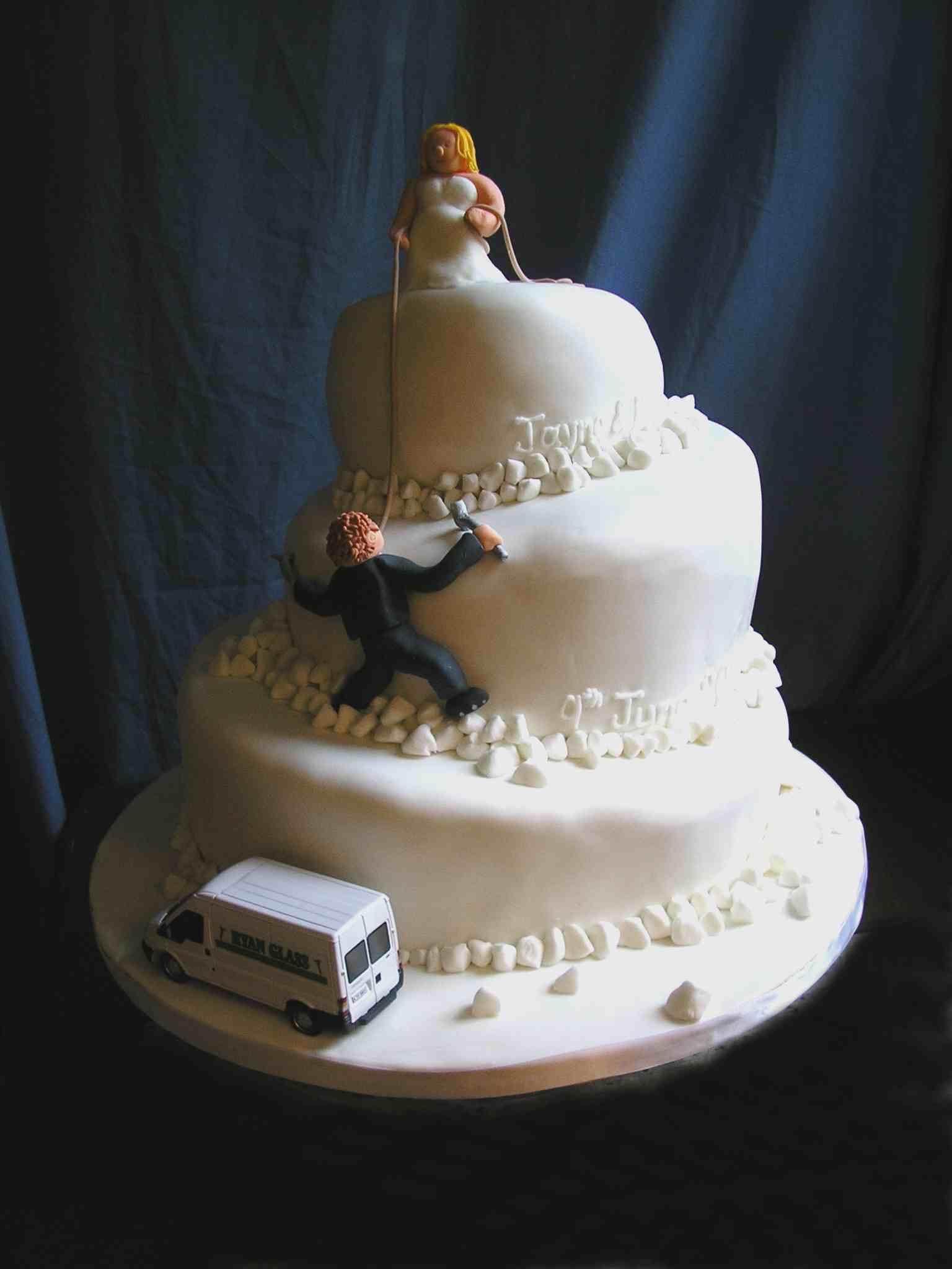 Mountain Cake Design